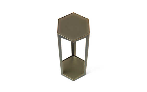 Troscan Gemma Hex Drink Table